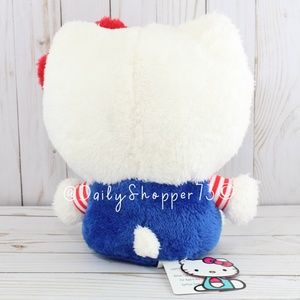 Sanrio Accents - NEW RELEASE Large Fluffy Hello Kitty Plush